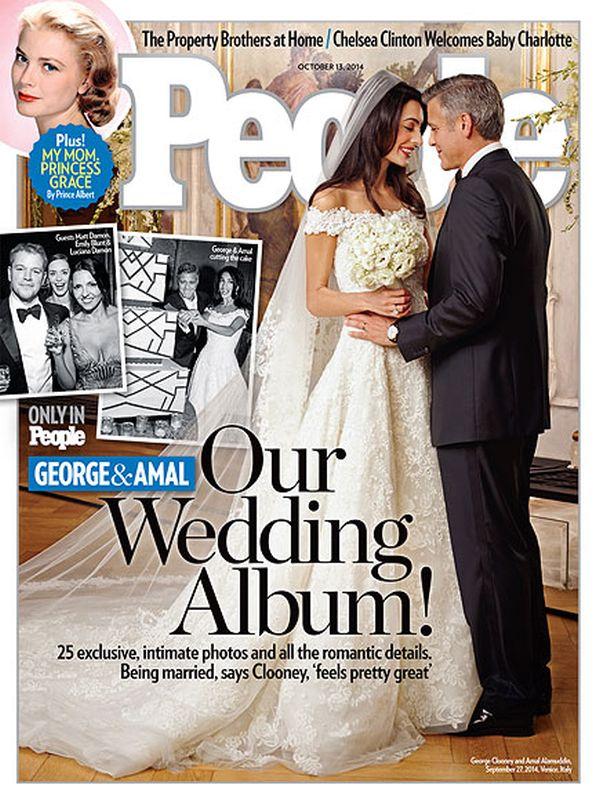 George Clooney Amal Alamuddin People