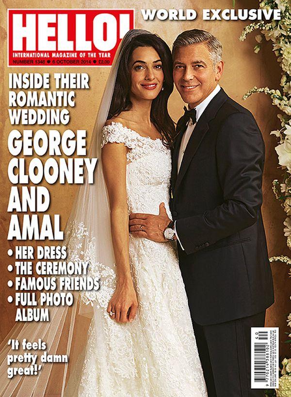 George Clooney Amal Alamuddin Hello