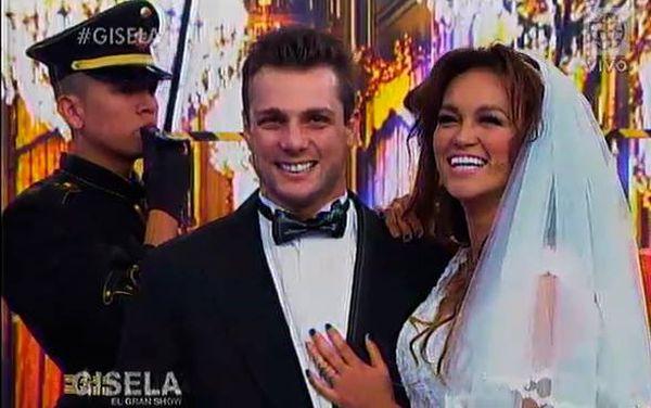 Nicola Porcella Angie Arizaga matrimonio