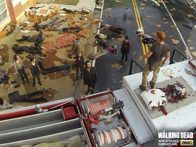 The Walking Dead Abraham temporada 5 capitulo 5