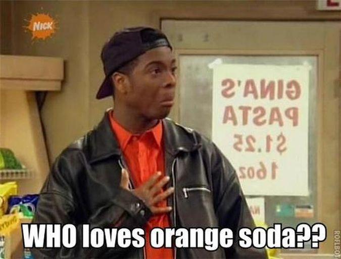 Nickelodeon Kel gaseosa naranja