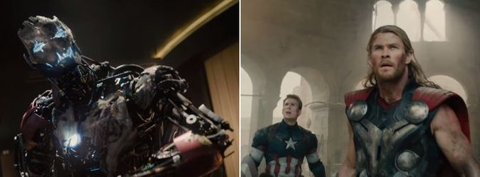 Avengers Age of ultron trailer youtube video viral
