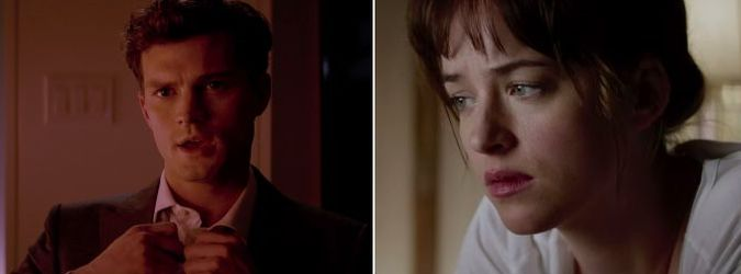 Fifty shades of grey trailer youtube video viral