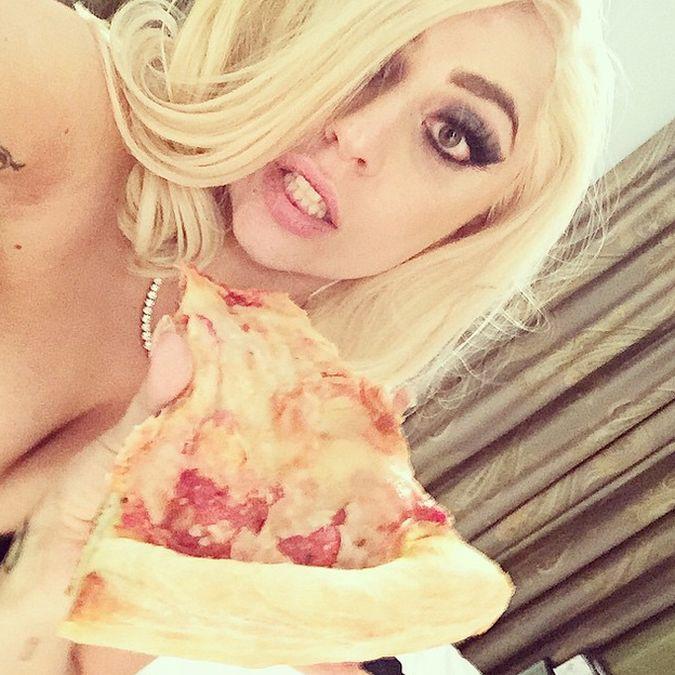 Lady Gaga pizza