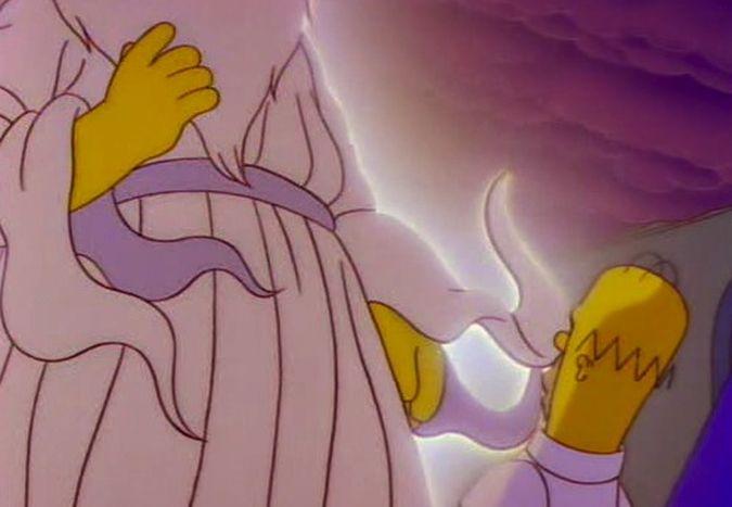 hombero simpson dios