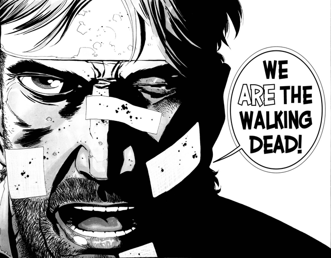 the walking dead temporada 5 episodio 10 rick we are the walking dead