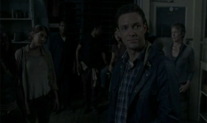 the walking dead temporada 5 episodio 11 aaron