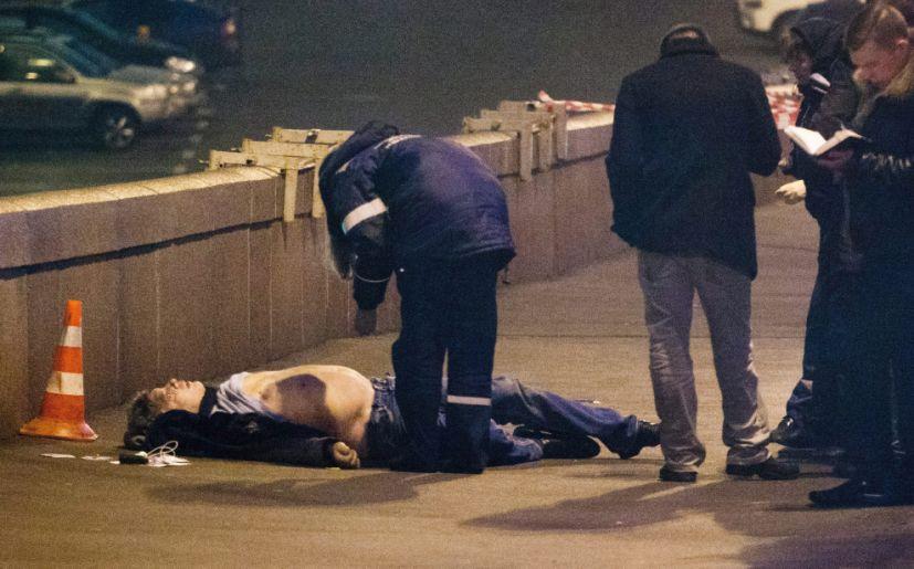 Cadáver de Boris Nemtsov