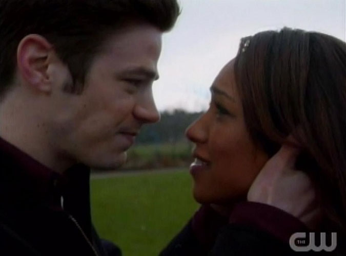 the flash barry iris beso