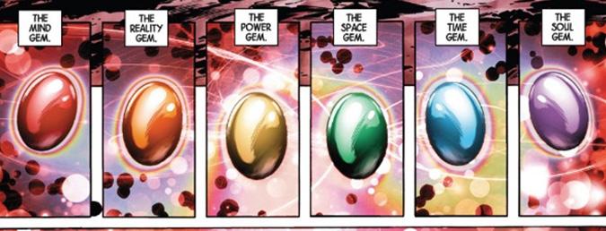 gemas del infinito marvel