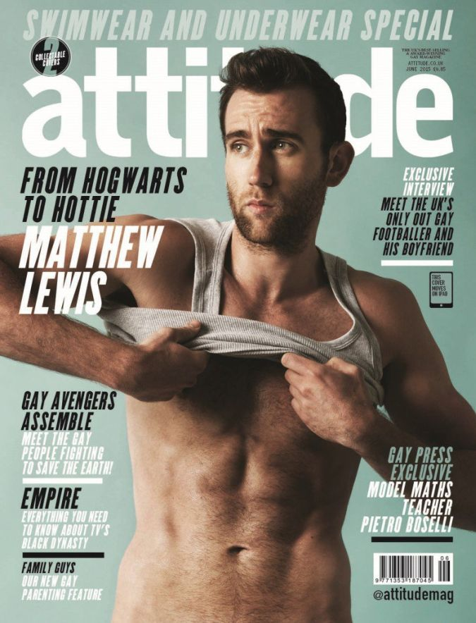 matthew lewis harry potter desnudo