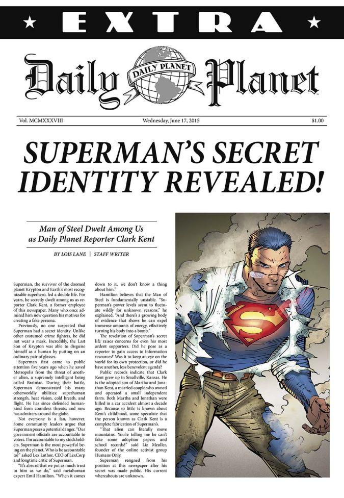 superman articulo lois lane clark kent