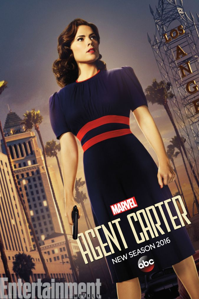 agent carter poster temporada 2