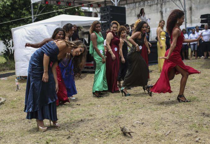 Reclusa de cárcel en Brasil