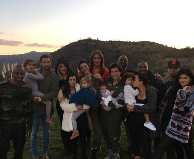La familia Kardashian celebró Thanksgiving Day
