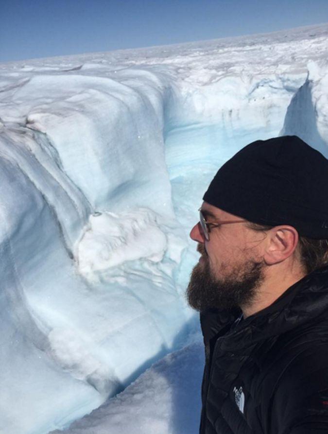 Leonardo Di Caprio apoya la lucha contra el cambio climático.