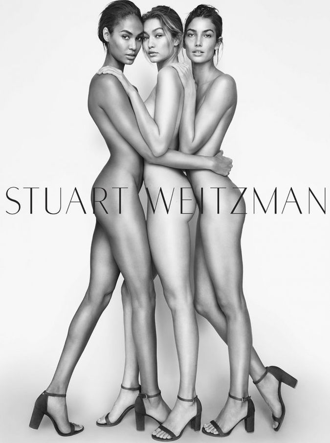 Joan Smalls, Gigi Hadid y Lily Aldridge desnudas