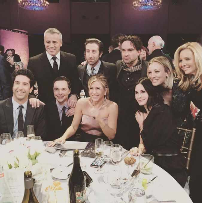 friends the big bang theory reunion actores nbc