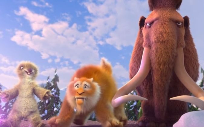 Ice Age Collision Course trailer la era del hielo