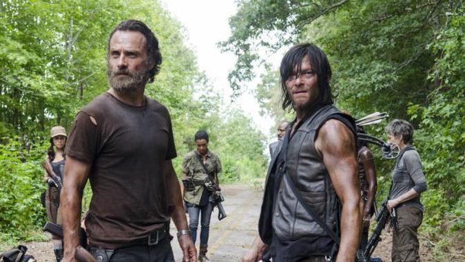 the walking dead rick daryl temporada 6