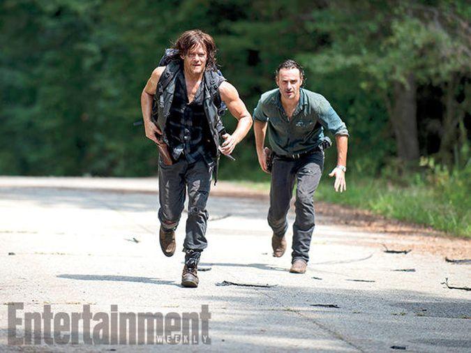 the walking dead daryl rick temporada 6