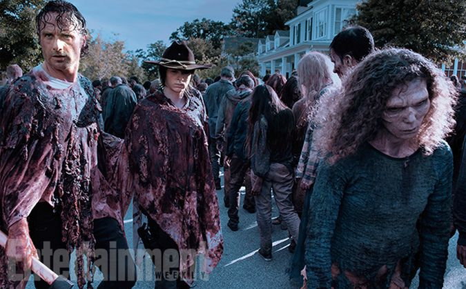 the walking dead temporada 6 rick carl