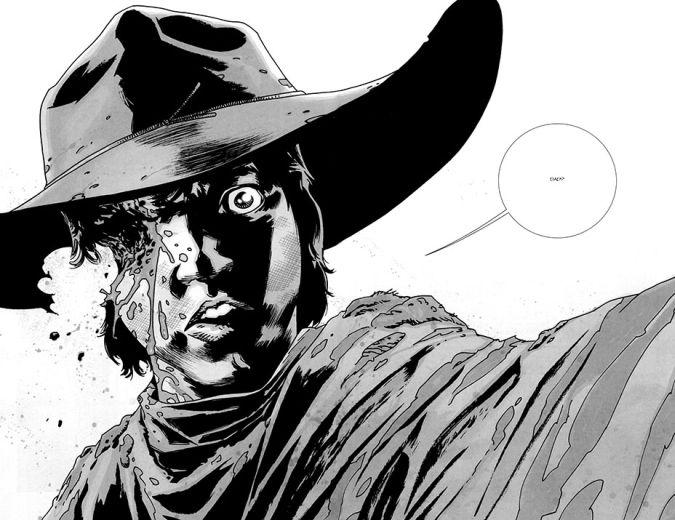 the walking dead carl grimes comic ojo