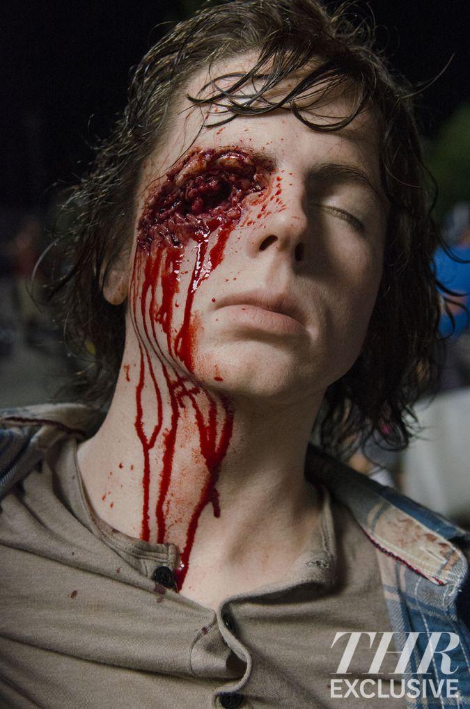the walking dead carl grimes ojo