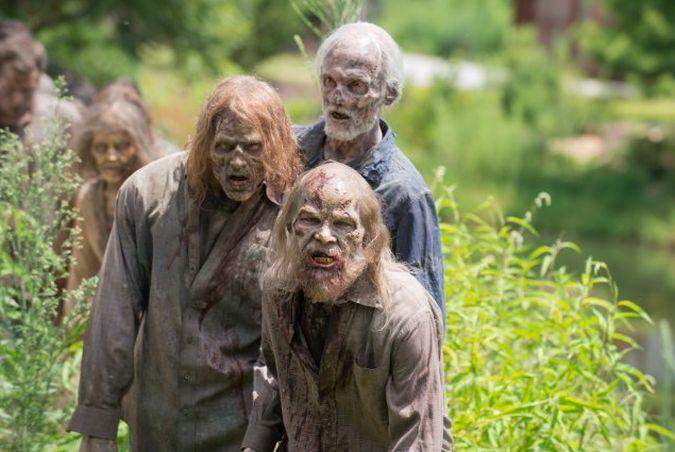 the walking dead zombis