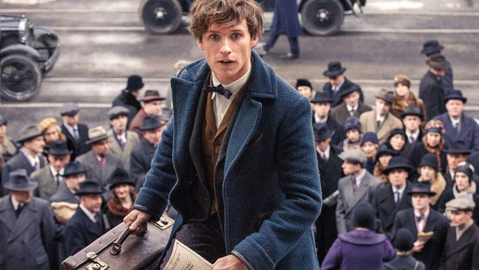 Fantastic Beasts and Where to Find Them eddie redmayne newt scamander