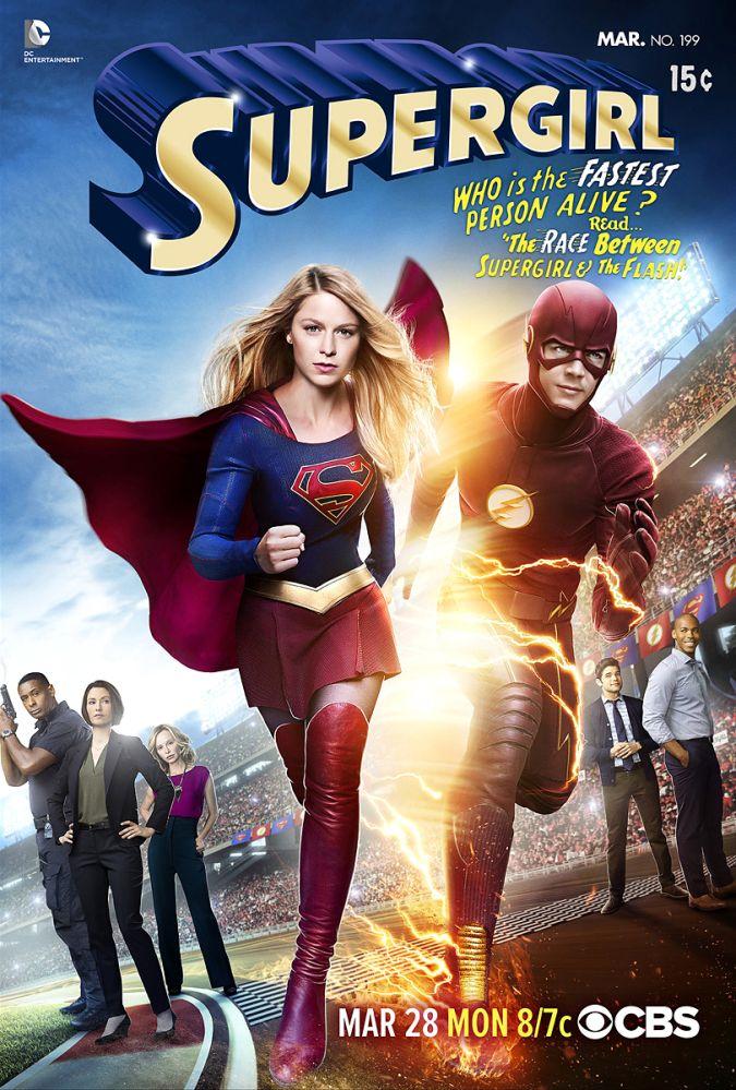supergirl flash crossover foto