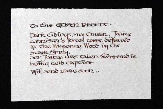 game of thrones carta captura jamie lannister
