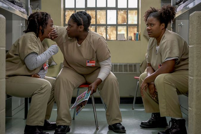 Orange Is the New Black temporada 4 crazy eyes Taystee Cindy
