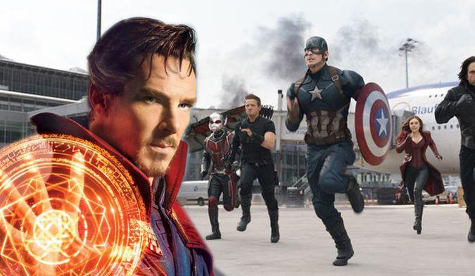 captain america civil war doctor strange