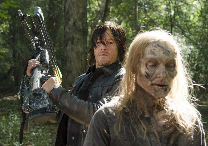 the walking dead daryl dixon zombi walker