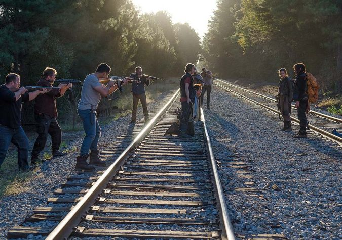 the walking dead dwight temporada 6