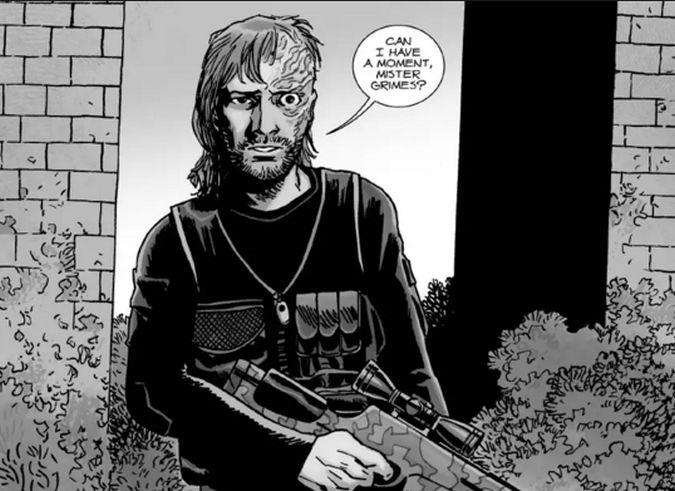 The walking dead dwight comic