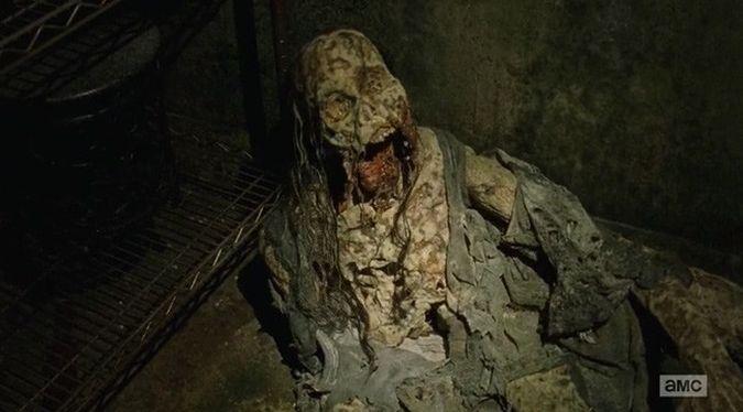 the wakling dead temporada 6 episodio 14 walker descompuesto