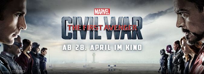 captain america civil war banner
