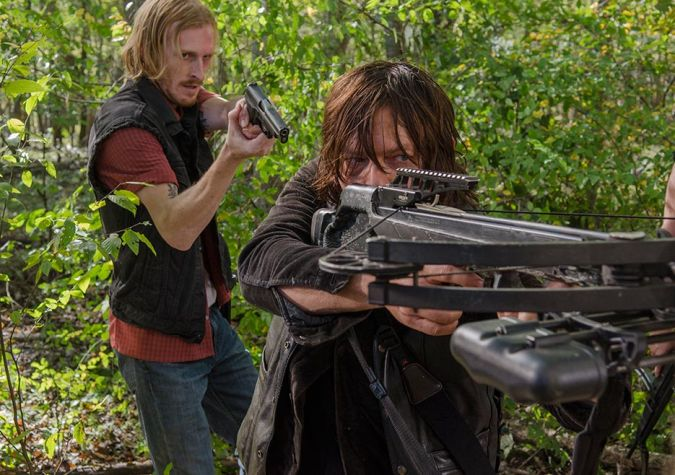 the walking dead daryl dixon muerte dwight
