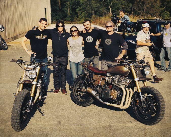 the walking dead daryl dixon motocicleta