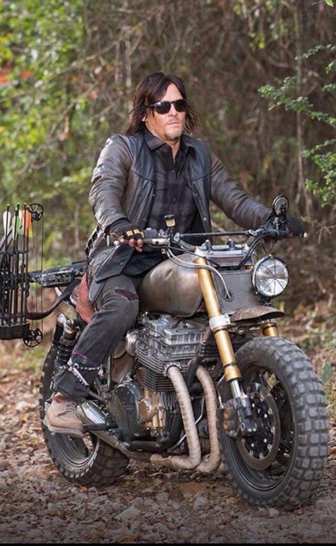 the walking dead motocicleta daryl dixon