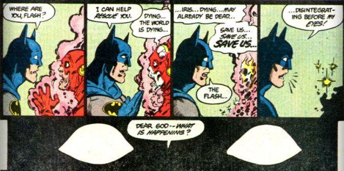 batman v superman dawn of justice the flash comic