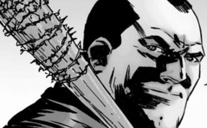 the walking dead negan comics