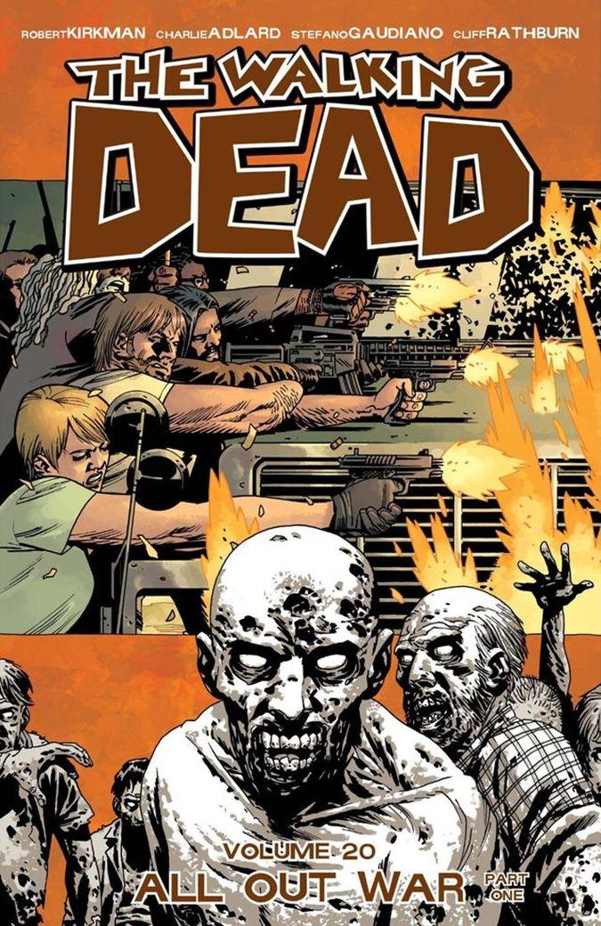 the walking dead negan comic guerra