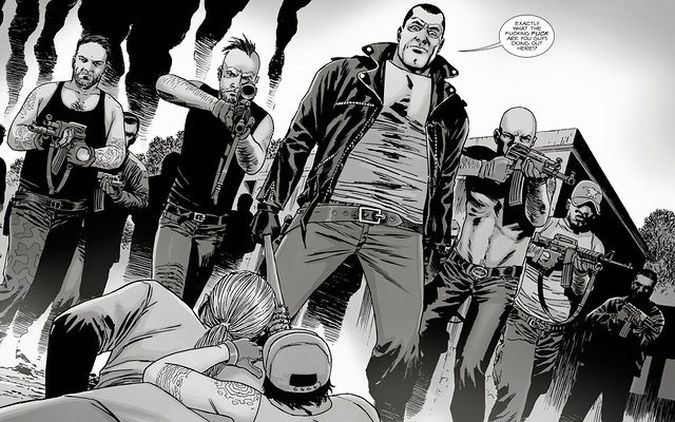 the walking dead negan final comic