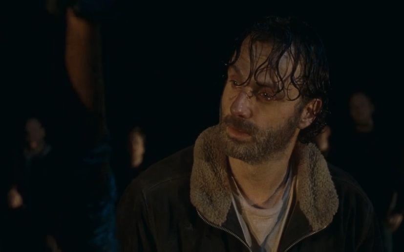 the walking dead rick temporada 6 negan