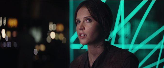 rogue one a star wars story Felicity Jones