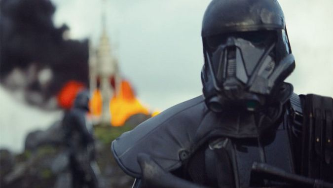 star wars rogue one teaser trailer stormtrooper