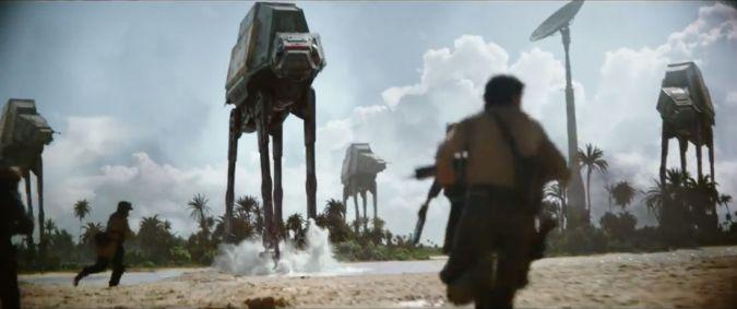 star wars rogue one at at teaser trailer